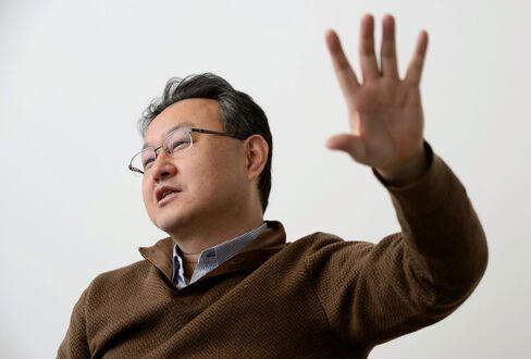 Shuhei Yoshida, president of Sony Computer Entertainment Inc.'s Worldwide Studios.