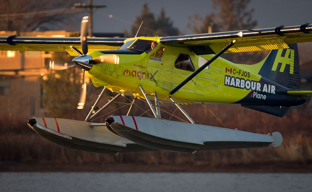 Harbour Air's Electric Aircraft Flight Heralds Fossil-Free