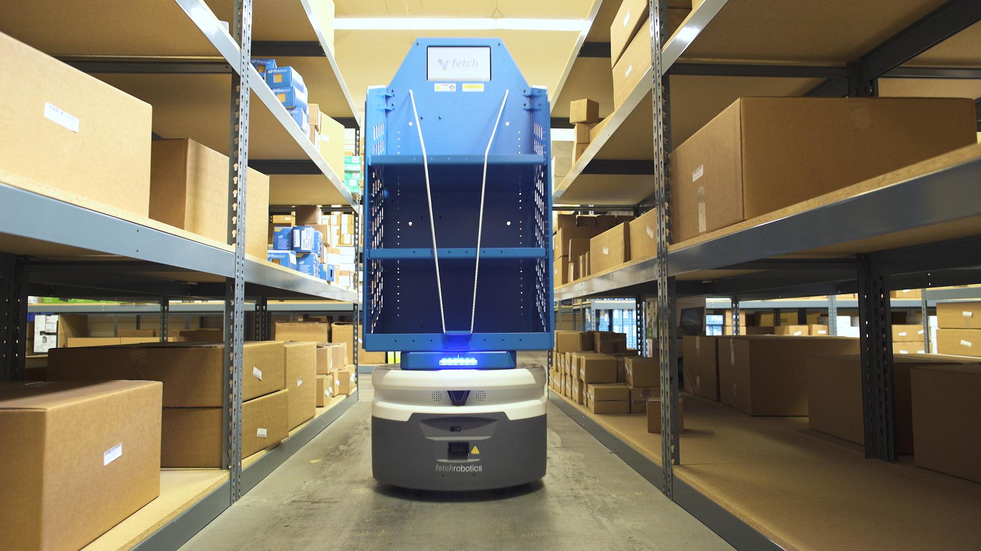 Amazon's Robot War Is Spreading - Bloomberg