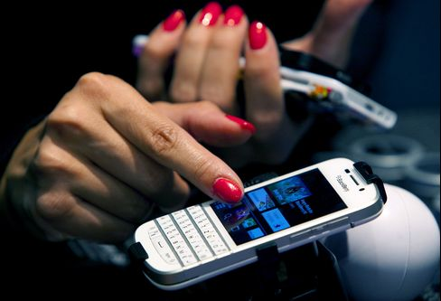 BlackBerry CEO Targets Messaging, Profit After Stock Surges 56%
