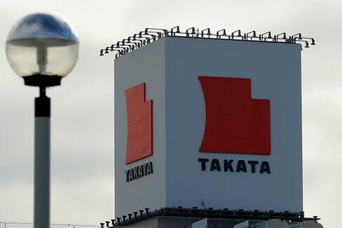 滋賀県にあるタカタ工場