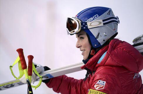 Skiing Champion Lindsey Vonn