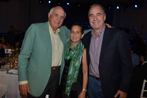 Ken Langone with Maria Dolores and Maurice Ferre