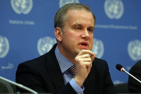 Ukrainian Deputy Foreign Minister Danylo Lubkivsky