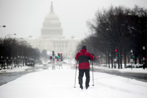 Snow in Washington, D.C.