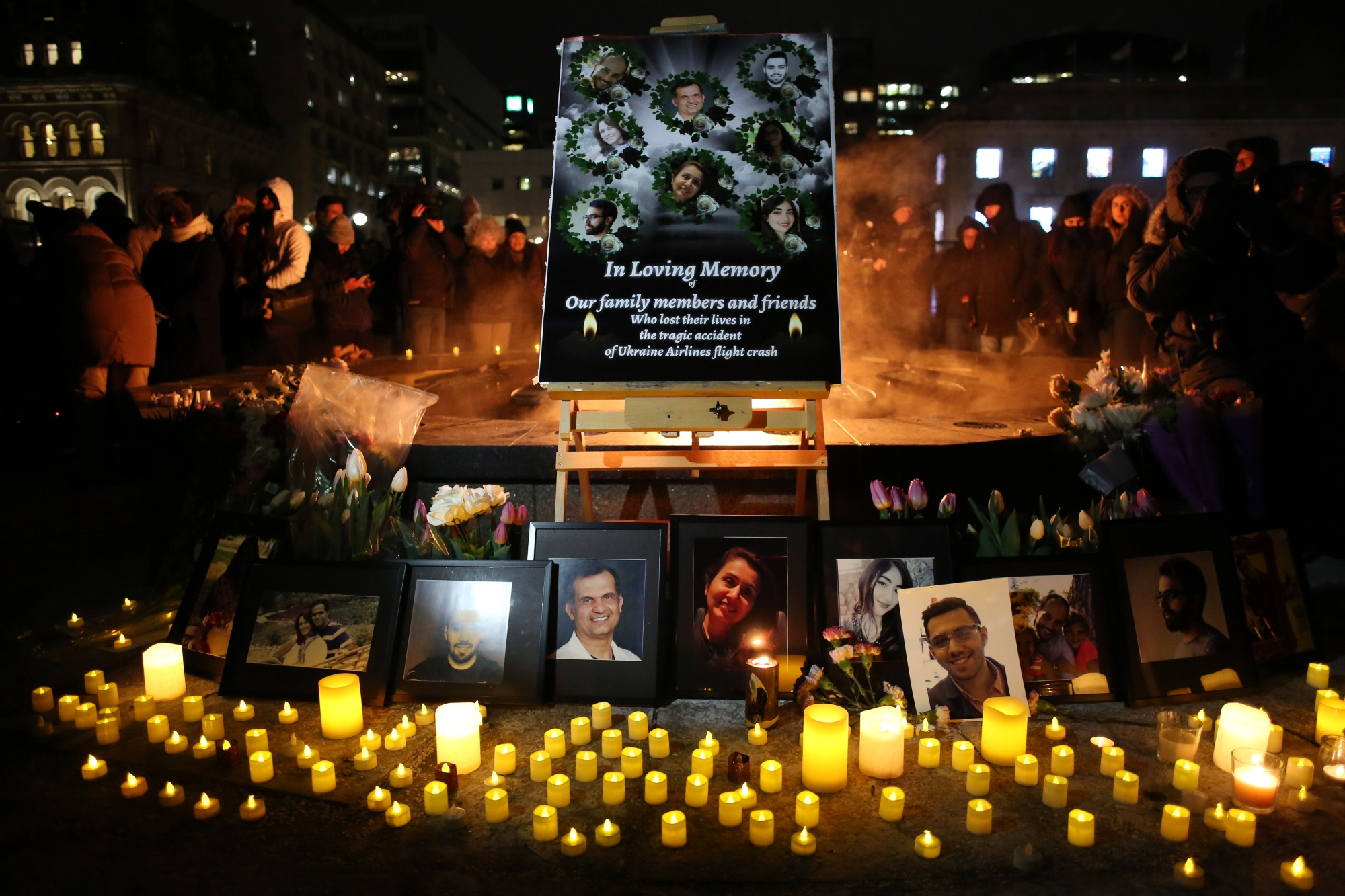 Honoring the dead in Ottawa.