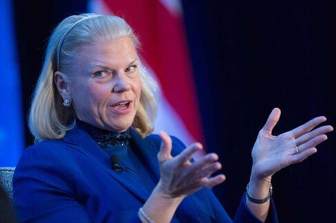 IBM Chief Executive Officer Ginni Rometty Speaks At The Economic Club Of Washington
