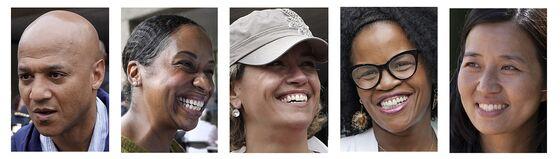Long Led by Men, Boston Sees Women in Close Bid for Mayor