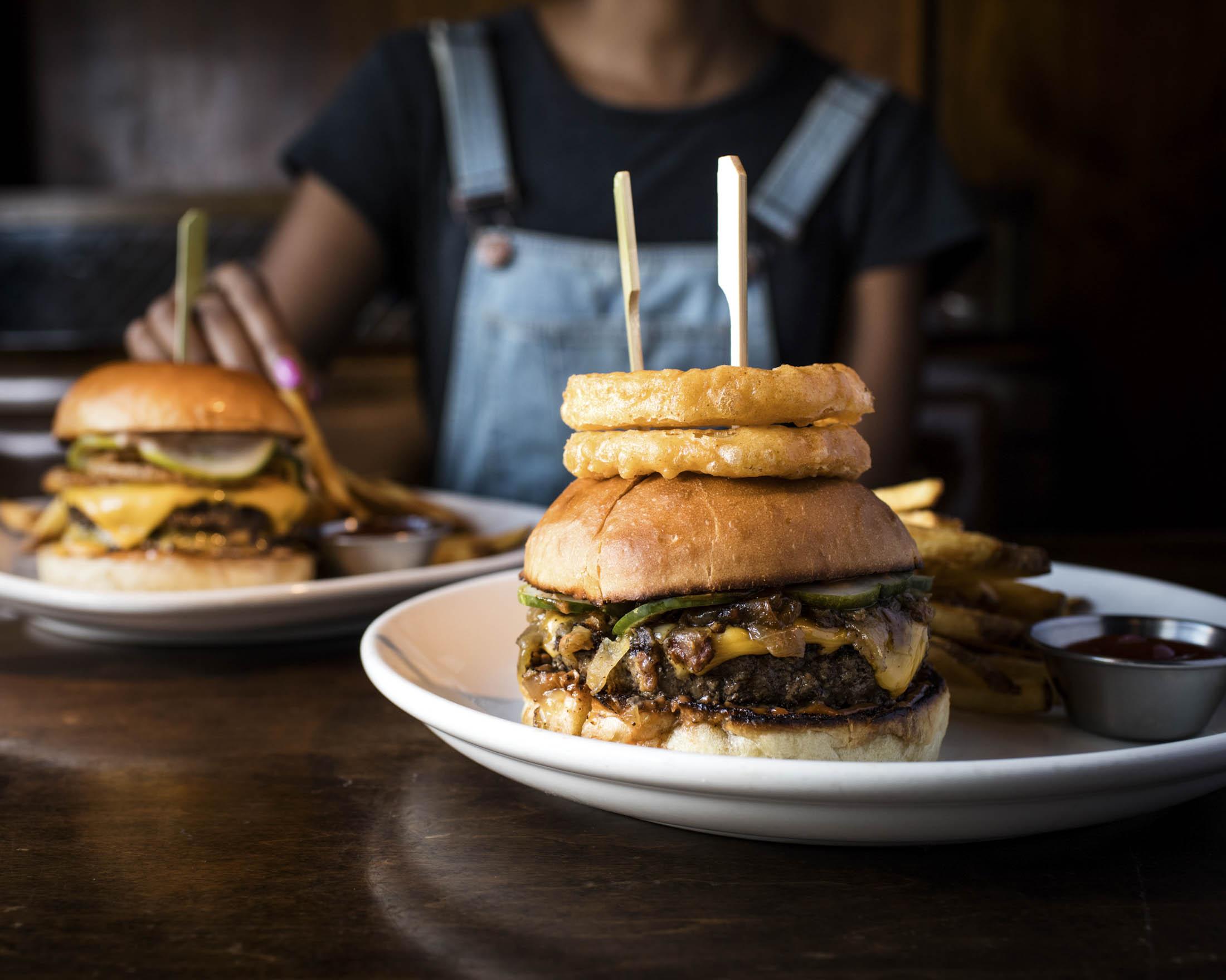 Bash-Style Burger at Burger & Barrel