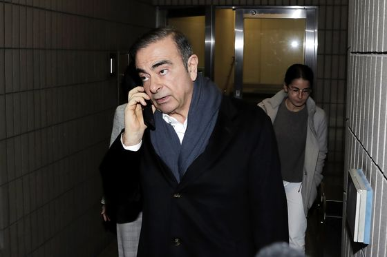Ex-Nissan Leader Ghosn Plans to Air Video Statement