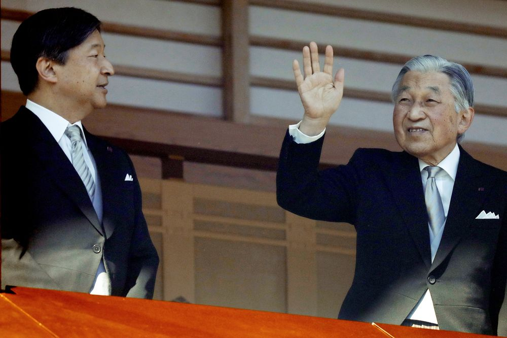 Japan\u0027s Emperor Akihito Attends Final New Year\u0027s Greeting Event Ahead of  Abdication