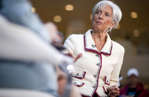 Lagarde Urges 'Gradual' Deficit Cut as Voters Reject Austerity