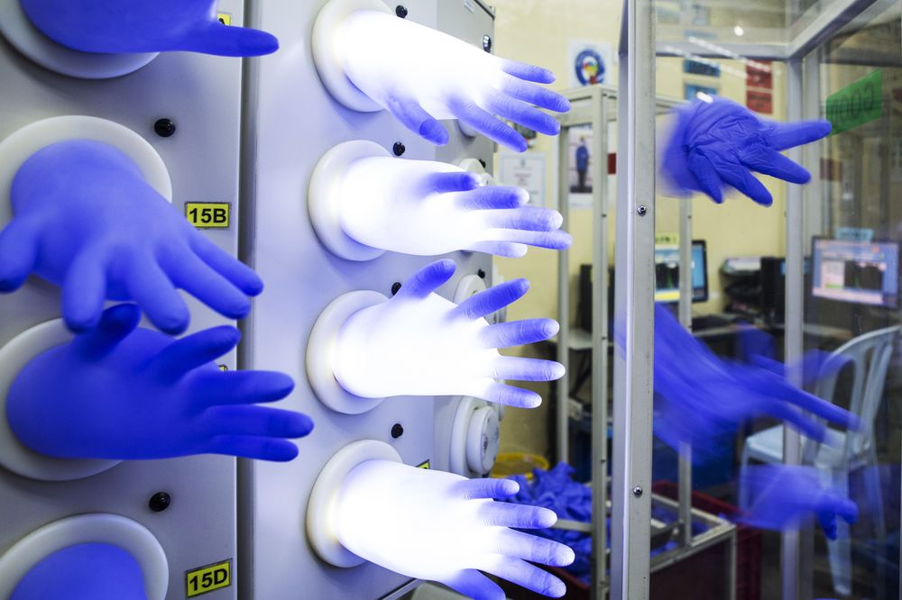 U S  Hygiene Push Could Fuel Rubber Glove Boom Half a World Away