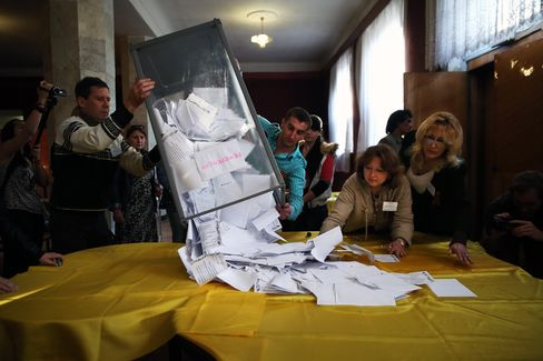 Referendum Vote In Eastern Ukraine