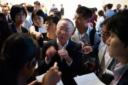 Tadashi Yanai in Tokyo on May 25.