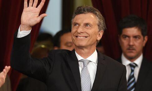 ARGENTINA-MACRI-INAUGURATION