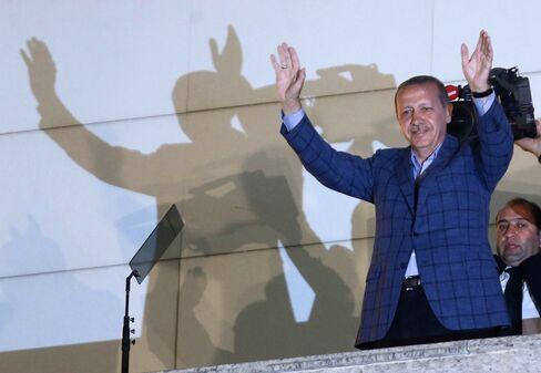 Tukish President-Elect Recep Tayyip Erdogan