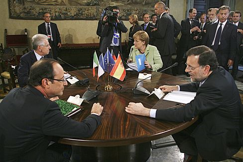 Germany to Confront United Euro Bloc as Leaders Head to Summit