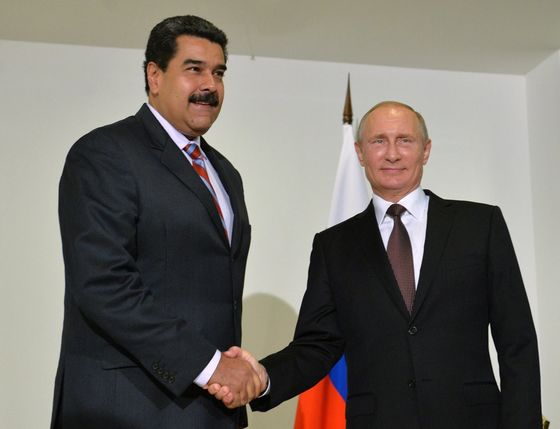 Russia Starts to Worry Maduro's Grip May Slip in Venezuela