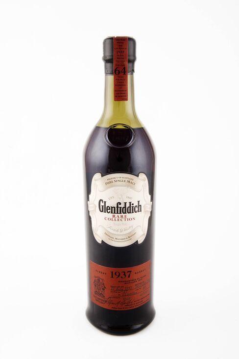 Glenfiddich 1937, a 64-year old Scotch Whisky.
