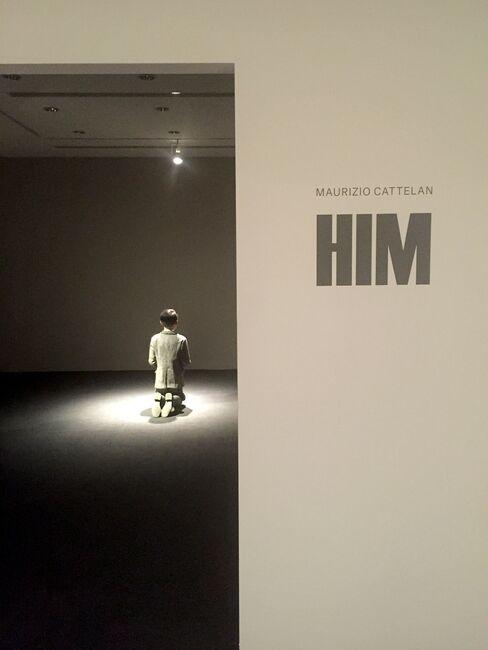 "Cattelan's ""Him"""