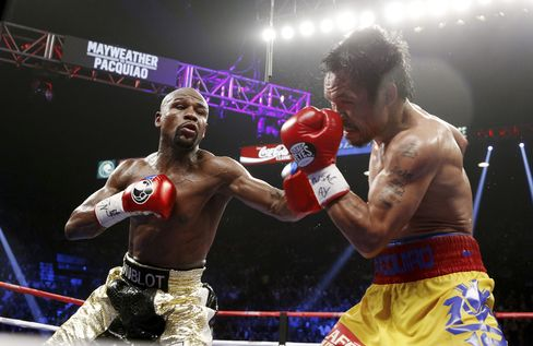 Floyd Mayweather vs. Manny Pacquio