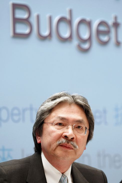 HK Financial Secretary John Tsang