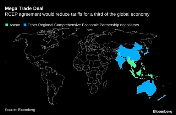 Asia Trade Pact Won't Be Signed Until February, Philippines Says