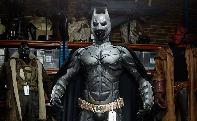 Batmanu0027s Batsuit from The Dark Knight (2008) and The Dark Knight Rises (2012).  sc 1 st  Bloomberg & Someone Just Bought a Batsuit for $250000 - Bloomberg