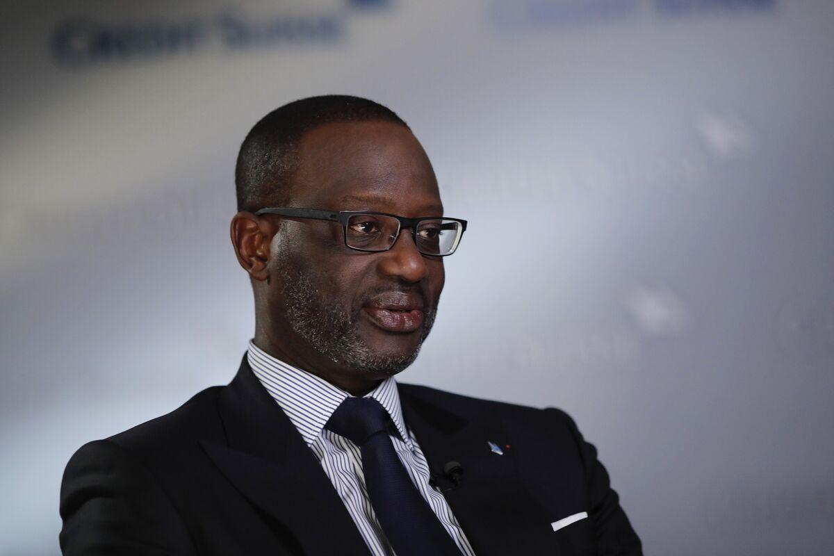 Thiam, la banca d'investimenti di Credit Suisse, pesa sui risultati