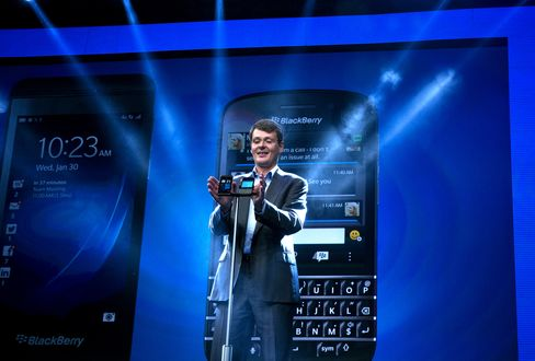 BlackBerry CEO Takes Stage to Unveil Make-or-Break Products