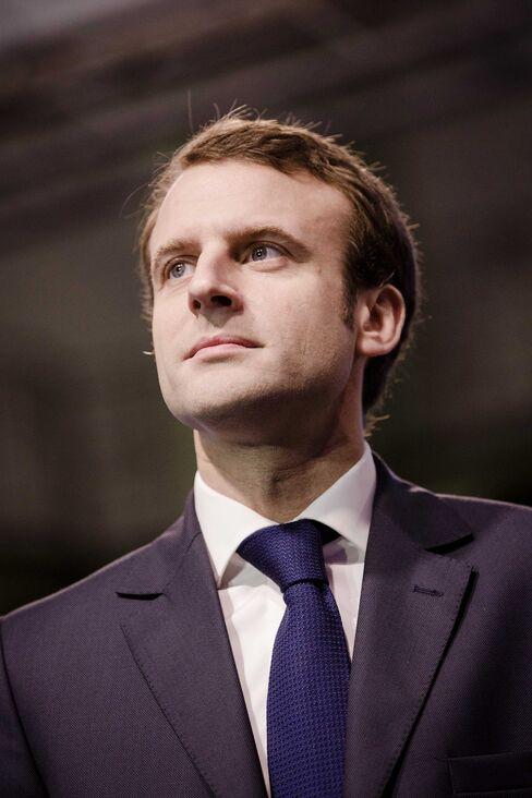 Emmanuel Macron, France's economy minister.