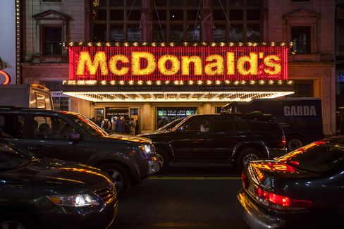 McDonald's Corp Restaurant in New York
