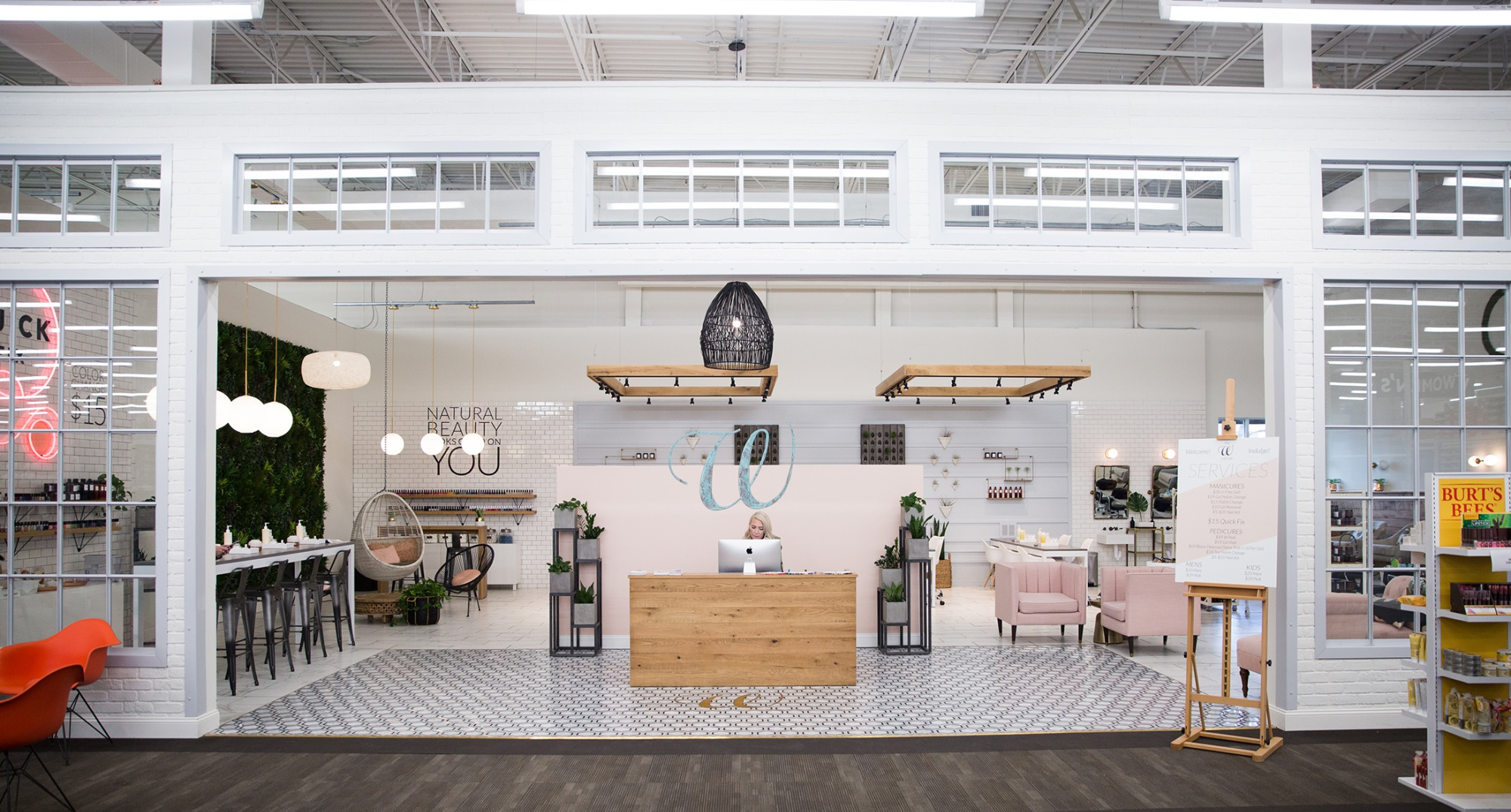 DSW Using Nail Salons in Shoe Stores to