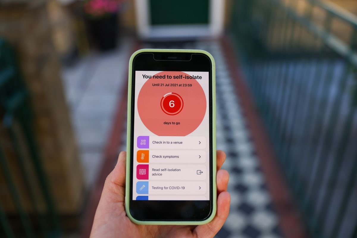 Fears U.K. Public May Be Deleting Covid App to Avoid Isolating