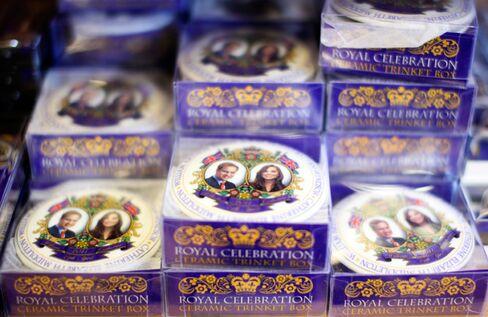 Royal wedding trinket boxes