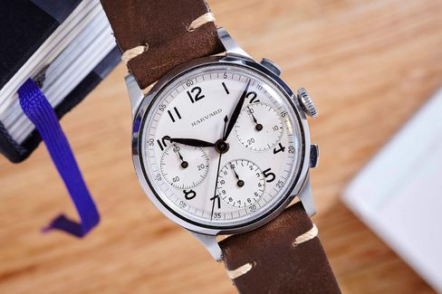 "The ""Harvard Chronograph"" from the mid-1950s."