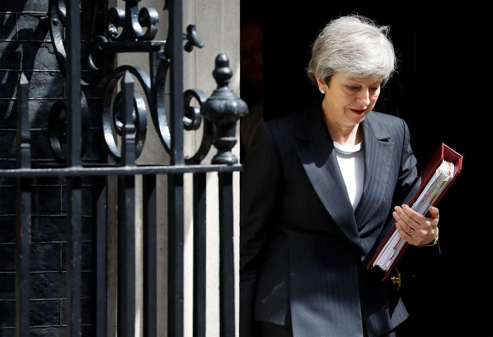 Theresa May Set to Announce Timetable to Quit as Tory Leader