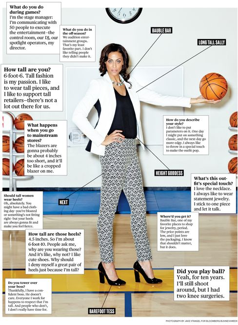 What I Wear to Work: Golden State Warriors' Alicia Jay