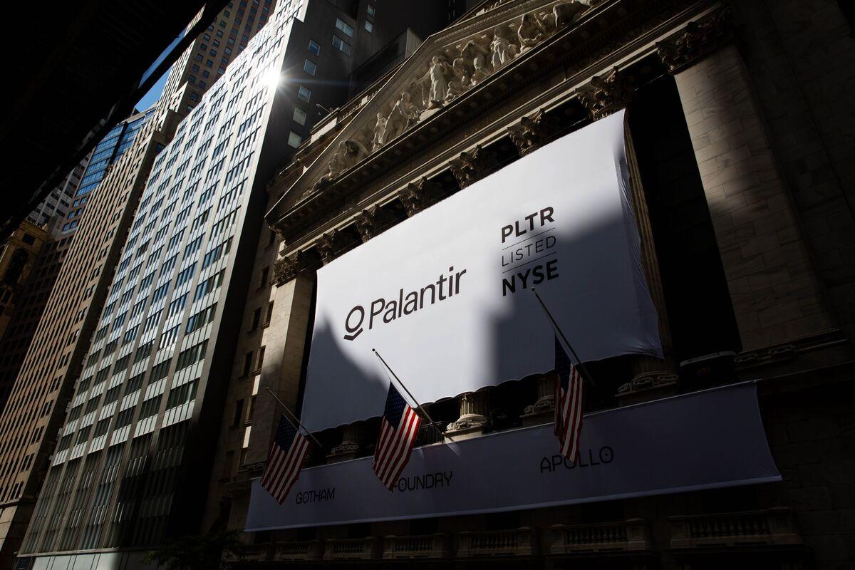 Palantir Adds $17 Billion in Value in Best Week Since Debut