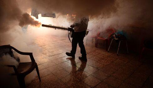 TOPSHOT-EL SALVADOR-HEALTH-AEDES AEGYPTI-VIRUS