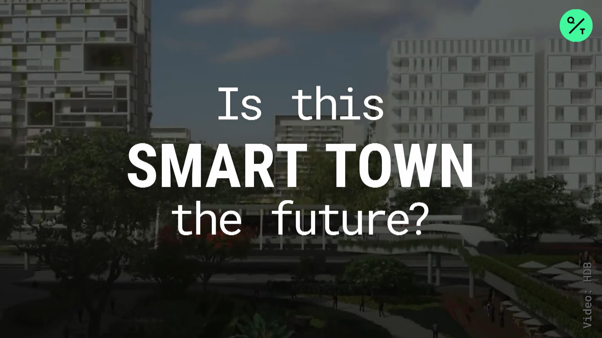 Singapore's New Town of the Future