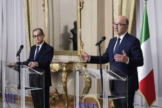 EU Says Italy's Planned Budget Deviation is 'Unprecedented'