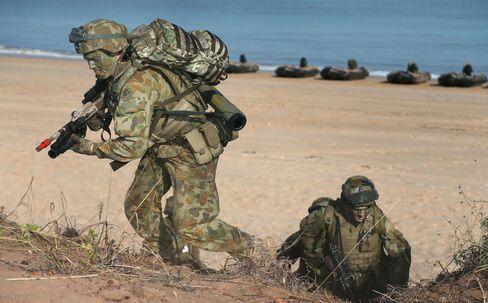 Australia Military Exercise