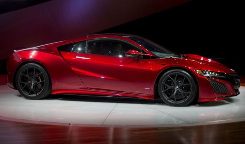 Acura will show its all-new NSX sports coupe.