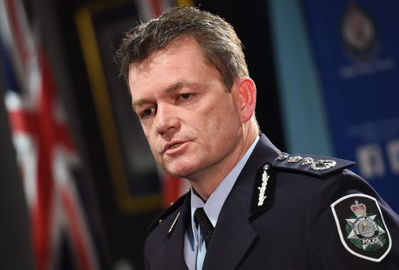 Australia's Top Cop Warns of `Unprecedented' Foreign Meddling
