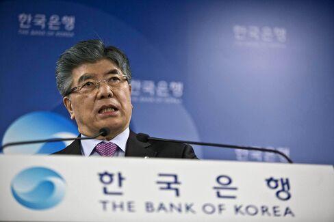 Korean Central Bank Governor Kim Choong Soo