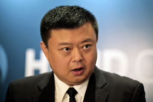 HKND Group ceo and founder Wang Jing