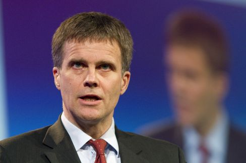 Helge Lund, president and chief executive officer of Statoil