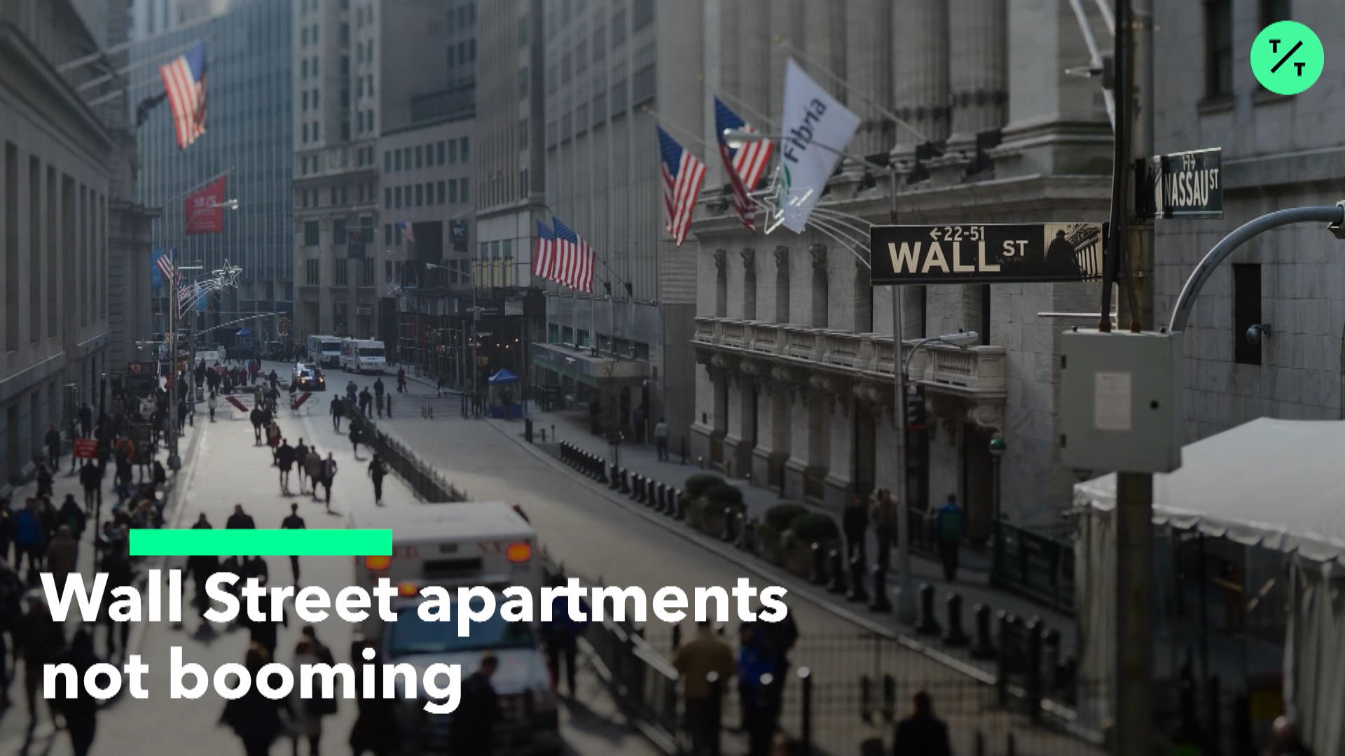 Wall Street Apartments Not Booming